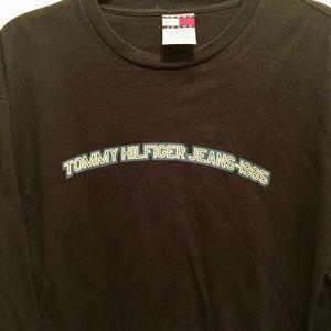 Men's Tommy Hilfiger Jeans LS T-Shirt - Vintage XL